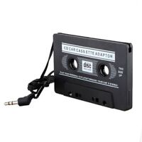 Car Audio Tape Deck 3.5mm Cassette Adapter for IPhone MP3 CD MD Player Jack AUX