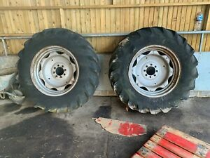 Pair of 16.9 /14-30 rear wheels and tyres   X  Leyland 272 tractor......£220+VAT