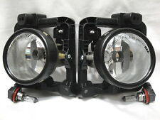 Glass Fog Driving Light Lamps w/2 Light Bulbs One Pair For 2009 2010 TSX
