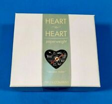 Paper Weight Black Heart Ceramic Decision Maker Spin the Dial