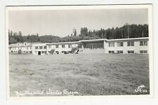 "RPPC, view of ""New Hospital"", Wheeler, Wheeler County, Oregon, ca1950s"