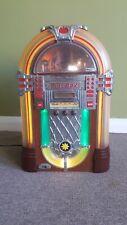 More details for retro table top jukebox cd player/tape player/fm radio  50cm x 30cm x 25cm
