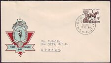 1960 MELBOURNE CUP ON POST OFFICE HERMES FIRST DAY COVER - ADDRESSED (RU1791)