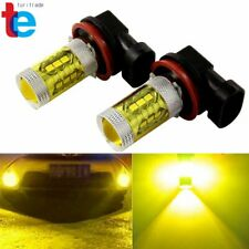 2X H8 H11 High Power 80W 2323 LED 3000k Yellow Fog Driving Lights US
