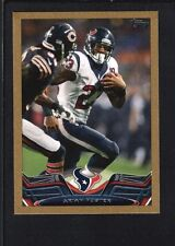ARIAN FOSTER 2013 TOPPS MINI #230 GOLD PARALLEL TEXANS SP #01/58