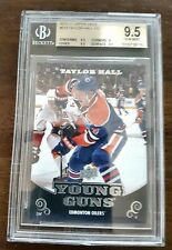 TAYLOR HALL 10/11 UD SERIES 1 # 219 YOUNG GUNS ROOKIE SP RC * BGS 9.5 GEM MINT