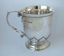 Good Solid Sterling Silver Cup/ Mug 1929/ H 8.2 cm/ 157 g