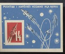 ALBANIA - BF - 1962 - Veicolo cosmico - non dentellato