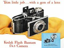 ADVERT CAMERA PHOTOGRAPHY RETRO LENS GEM COMPACT ART POSTER PRINT LV030
