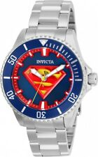 Invicta 26898 DC Comics Superman Women's 38mm Automatic Steel Blue Dial Watch