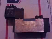 FESTO MDH-5/2-D-1-FR-M12C SOLENOID VALVE 24 VDC 197125 NEW