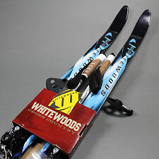 Whitewoods Cross Country 75mm Ski Set 177cm Skis & Poles (NEW) Lists For:$179.99
