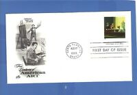 FIRST DAY ISSUE EDWARD HOPPER STAMP 1998 FDC FOUR CENTURIES OF AMERICAN ART