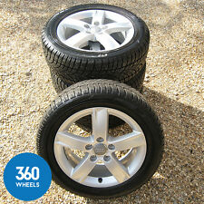 "Genuine AUDI A3 16"" 5 Spoke Alloy Wheels DUNLOP SP SPORT pneus d'hiver Glace Neige"