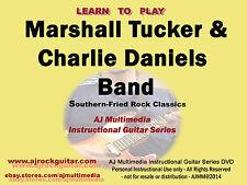 Custom Guitar Lessons - Learn Marshall Tucker & Charlie Daniels Bands (MTB/CDB)