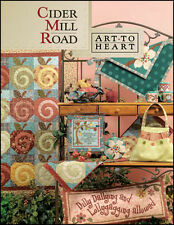 Art-to-Heart Cider Mill book by Nancy Halverson  FREE US SHIP