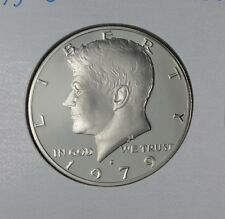 1979-S PROOF JOHN F KENNEDY HALF DOLLAR FROM MINT PROOF SET COPPER-NICKEL CLAD