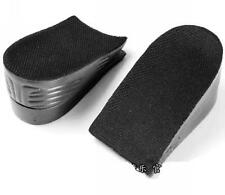 New Unisex Increase Height Insoles Taller Lifts Shoe Inserts 2 Layers Shoes Pads