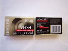 Cassettes vhsc neuves 2 EC30 video K7 vierges p. camescope livrées chez vous