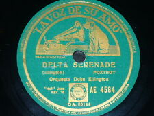 JAZZ 78rpm RECORD VsA DUKE ELLINGTON / JIMMIE LUNCEFORD Delta Serenade / White..