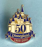 Disney Collector Pin Cast Exclusive Disneyland 50th Anniversary 2005