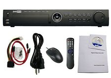 32 ch H.264 Tribrids DVR: HD-TVI/Analog/IP 30fps/720p 15fps/1080p
