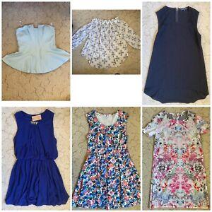 Bulk Ladies Clothes Size 6-10 6pcs - Bardot, Miss Shop, French Connection, Piper