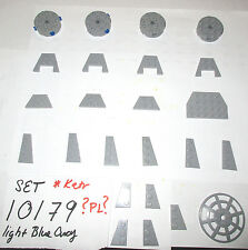 10179 lego  Blue Grey Wedge Plate Star Wars 6222 4285 32059 41769 51739 90194