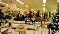 Hess's Department Store International Flower Show Old Postcard Allentown PA A10
