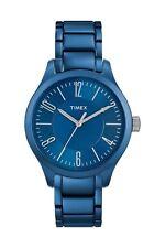 Timex Watch Wrist Watch Aluminium Blue Analog Quartz T2P105CC