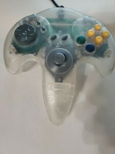 N64 Classic Wired Controller Joystick Gamepad -Clear