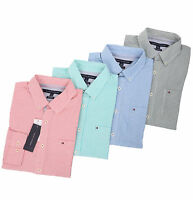 Tommy Hilfiger Men's Long Sleeve Button-Down Stripe Casual Shirt - $0 Free Ship