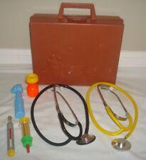 Fisher Price Dr Medical Kit Case Doctor Nurse 1977 Set #936 Stethoscope