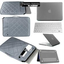 Rubberized Matte Hardshell Case+ Carrying bag + Keyboard Skin for Apple Macbook
