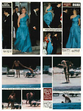 Princess Diana - lot of scanned magazine articles & clippings - Hola 1983 &1985