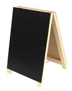 Easel Double Sided Chalk Board / Memo Board / Blackboard - shop display - BNWT