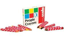 Scolaquip - PWC/10/A - Wax People Crayons - Pack Of 10 Assorted Colours