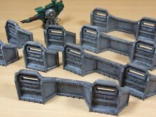 PLASTIC WARHAMMER AEGIS DEFENCE LINE WELL PAINTED (1447)