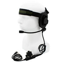 CS HD01 Z Tactical Headset Earpiece U94 Style PTT BaoFeng UV-5R Kenwood Radios