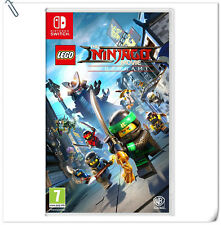 SWITCH The LEGO NINJAGO Movie Video Game Nintendo Warner Home Video Action Games
