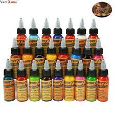 16pcs Colours Tattoo Ink Set Pigment Bottle Permanent Body Art Tinta De Tatuaje