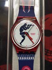 Orologio Swatch Gent TEDOPHORUS (GR111)-NUOVO+nuova batteria+blu/rosso/bianco