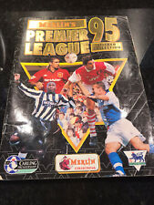 Merlin Premier League 1995 Complete Sticker Book