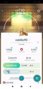 Pokemon Go  Shiny Timburr - Trade - Acc mini - Read Describe