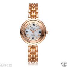 Lvpai Women Crystal Stainless Steel Luxury Quartz Ladies Dress Wrist Watches AU G# Black Sports Watch