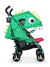 Cosatto Supa 3 Stroller Dino Mighty, Raincover & Footmuff - From Birth