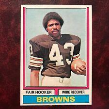 1974 Topps Set FAIR HOOKER #185 CLEVELAND BROWNS - NM/MINT+ *HIGH GRADE*