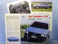 QUATTROR989-PROVA SU STRADA/ROAD TEST-1989- NISSAN VANETTE COACH -4 fogli