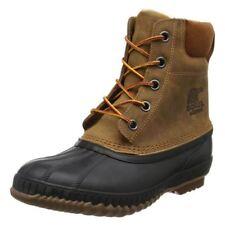 Sorel Snow, Winter Zip 100% Leather Boots for Men