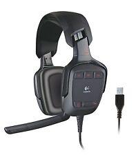 Nuevo Sonido Envolvente Logitech G35 Gaming Headset USB-ordenador, PC, Dolby 7.1
